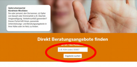 Beratung OSP Screenshot