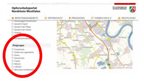 OSP Zielgruppe Screenshot