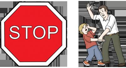 Stop mit Gewalt