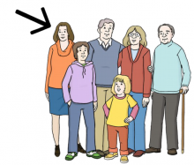 verschieden alte Menschen